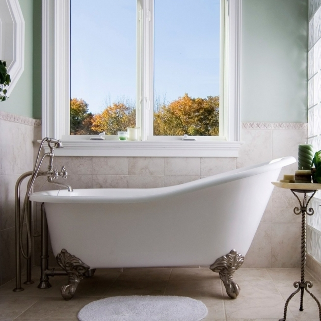 Refurbished Clawfoot Tub For Sale - Bathtub Designs