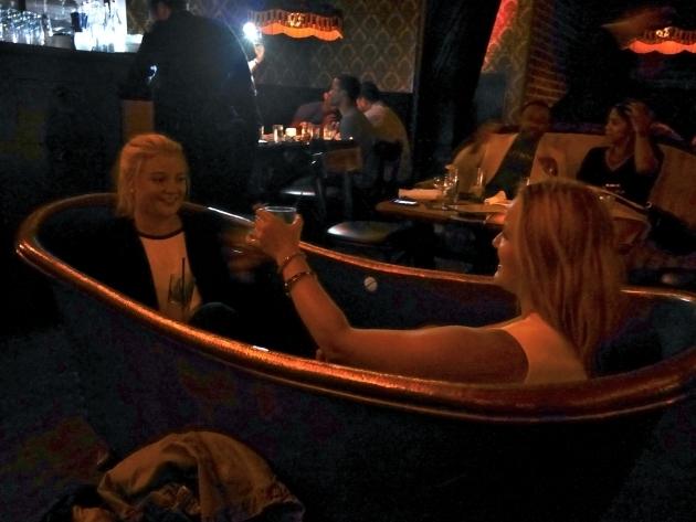 Fantastic Bathtub Gin Burlesque Eats Buddakan Late Night Snack