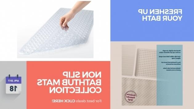 Fantastic Best Non Slip Bathtub Mat Non Slip Bathtub Mats Collection  Freshen Up Your Bath Youtube