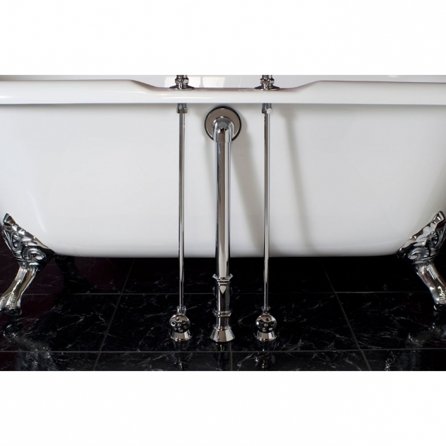 Fascinating Clawfoot Tub Supply Lines Strom Plumbing Clawfoot Tub Water Supply Lines For Deck Mounted