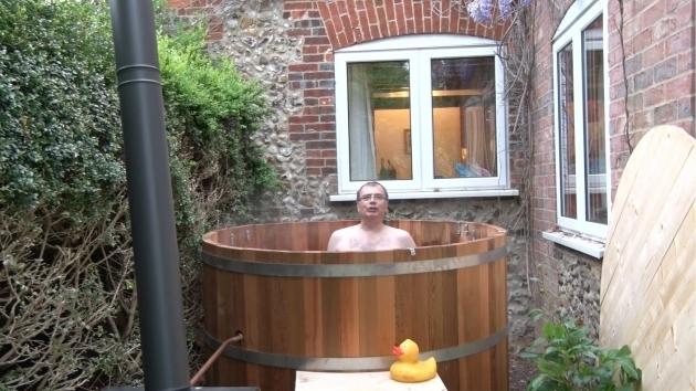 Incredible Cedar Soaking Tub How To Build A Cedar Wood Hot Tub Youtube