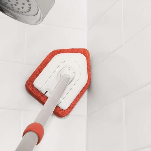 Inspiring Bathtub Scrubber Extendable Tub Tile Scrubber Oxo