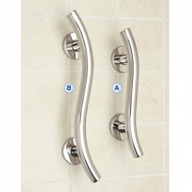 Inspiring Bathtub Support Bars Details About Curved Grab Rail Luxury Finish Support Handle