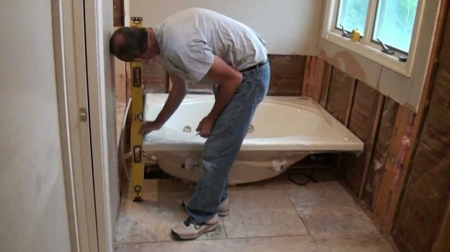 Inspiring How To Install A Whirlpool Tub Installing A Whirlpool Jet Tub Part 1 Youtube
