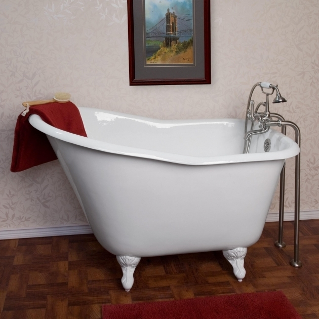 Marvelous Cast Iron Soaking Tub 52 Wallace Cast Iron Slipper Clawfoot Tub Bathroom