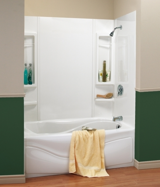 Marvelous Soaking Tub Shower Combo Wonderful White Acrylic Soaking Bathtub With Chrome Shower Tub