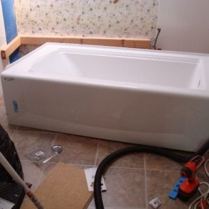 Trailer Bathtub