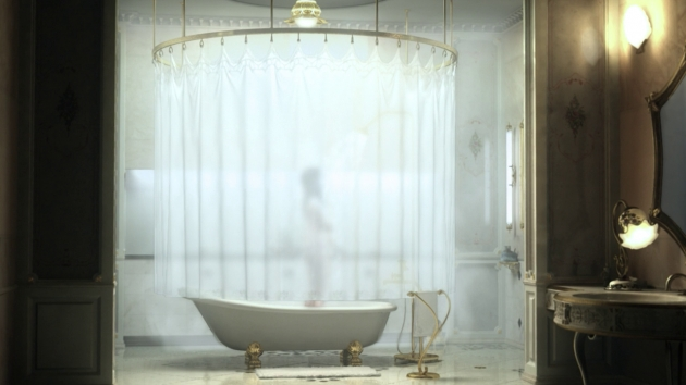 Outstanding Clawfoot Tub Shower Curtain Solutions Clawfoot Tub Shower Curtains Rickevans Homes