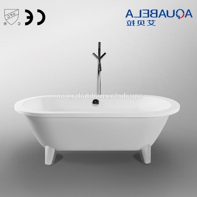 Remarkable Fiberglass Clawfoot Tub Fiberglass Clawfoot Tub Furniture Ideas