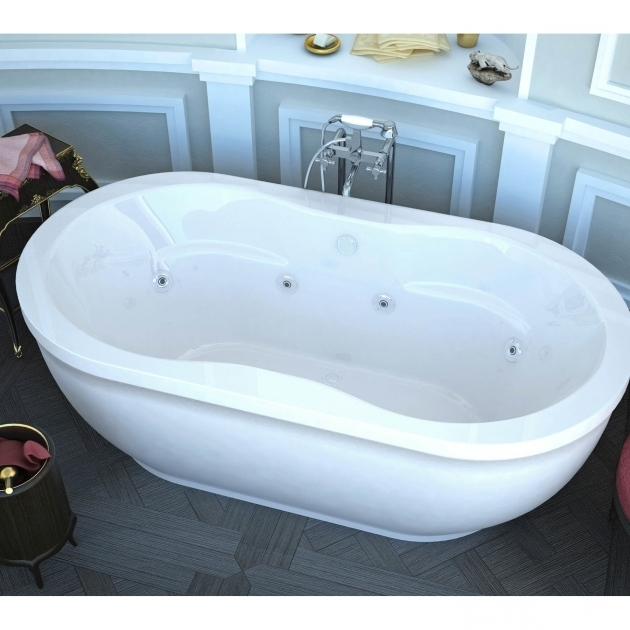 Stunning Soaking Tub With Jets Whirlpool Tubs Youll Love Wayfair
