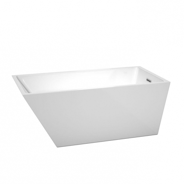 Stylish Wyndham Collection Soaking Tubs Wyndham Collection Soho 567 Ft Center Drain Soaking Tub In White