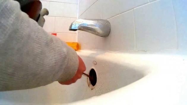 Wonderful Bathtub Drain Clog How To Unclog A Bathtub Drain Plunging Snaking A Clogged Bathtub