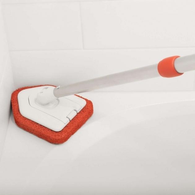 Wonderful Bathtub Scrubber Extendable Tub Tile Scrubber Oxo