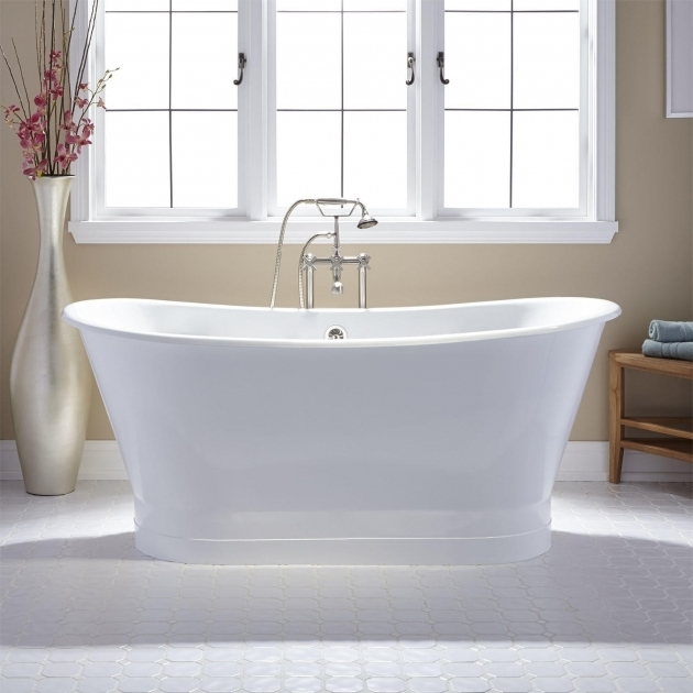 Wonderful Cast Iron Soaking Tub 67 Kateryn Bateau Cast Iron Skirted Tub Bathroom