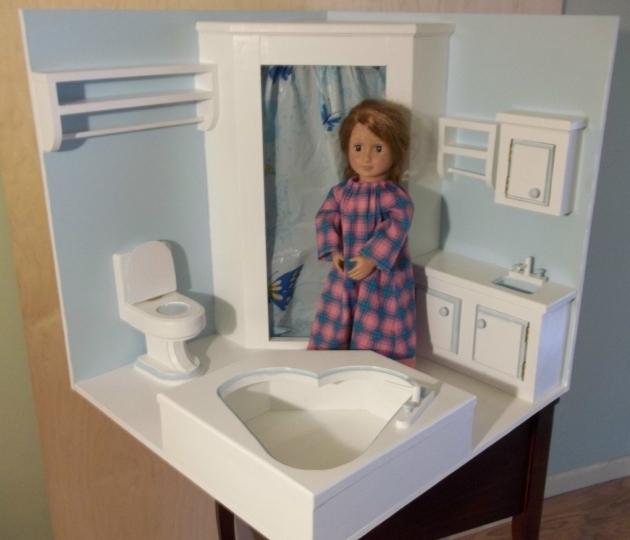 Alluring 18 Inch Doll Bathtub Bathroom Furniture For 18 Inch Dolls 2016 Bathroom Ideas Designs