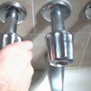 Dripping Bathtub Faucet