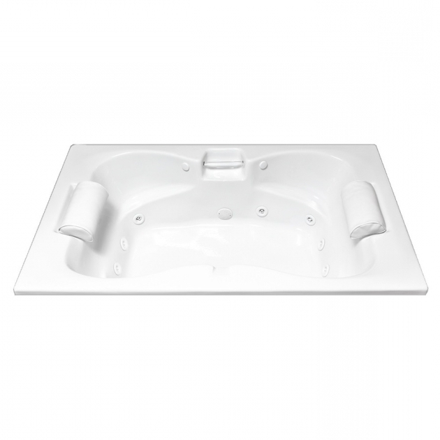 Awesome 72 Inch Whirlpool Tub Shop Laurel Mountain Seneca Ii 72 In White Acrylic Drop In