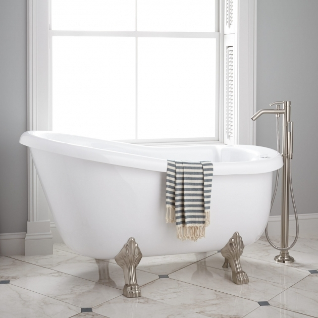 Awesome Jetted Clawfoot Tub Pearson Acrylic Clawfoot Whirlpool Tub Bathroom