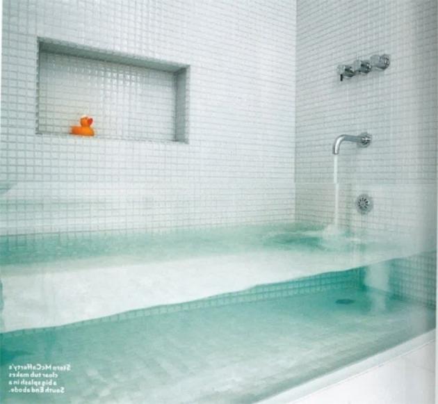 Beautiful See Through Bathtub See Through Bathtub House Pinterest I Want See Through And