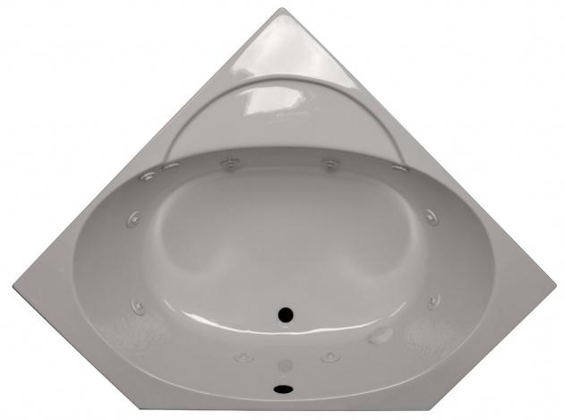 Fantastic 48 Soaking Tub American Acrylic 48 X 48 Corner Soaking Tub Reviews Wayfair
