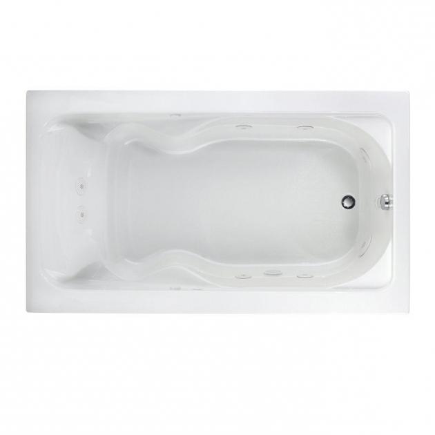 Fantastic 72 Inch Whirlpool Tub American Standard Everclean 6 Ft X 36 In Reversible Drain