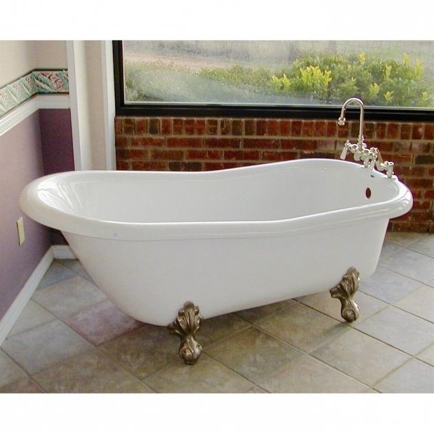 Fantastic Jetted Clawfoot Tub Jetted Clawfoot Tub