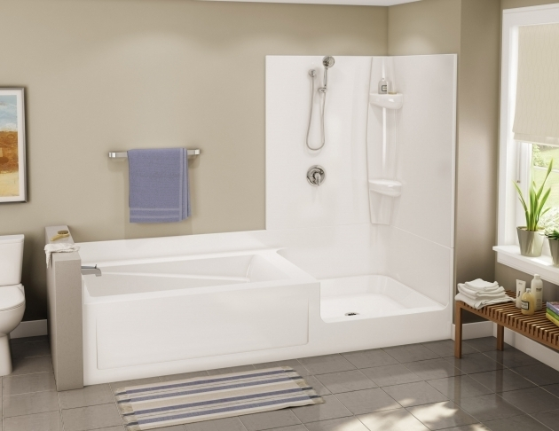 Fantastic Soaking Tub Shower Combination Soaking Tub Shower Combo Photo Home Furniture Ideas
