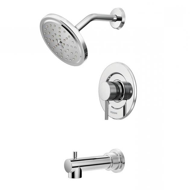 Fascinating Bathtub Faucet Kit Shop Moen Align Chrome 1 Handle Bathtub And  Shower Faucet Trim Kit
