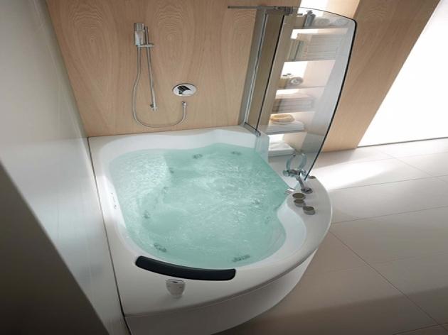 Fascinating Deep Soaking Tub Shower Combo Wonderful Small Soaking Tub Small Bathroom Ideas On Pinterest