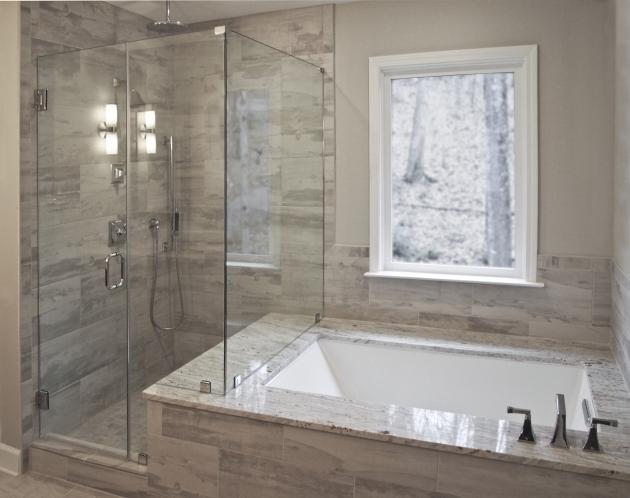 See through bathtub bathtub designs for Drop in bathtub with shower