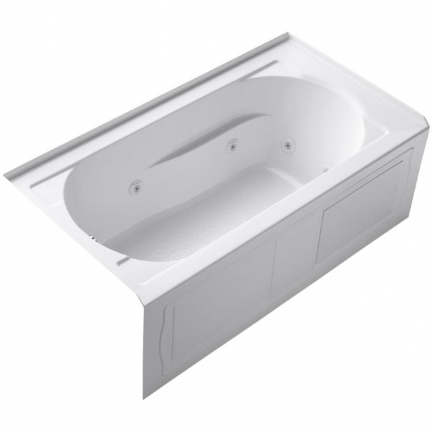 Gorgeous Alcove Whirlpool Tub Kohler Devonshire 5 Ft Acrylic Whirlpool Bath Tub With Left Hand