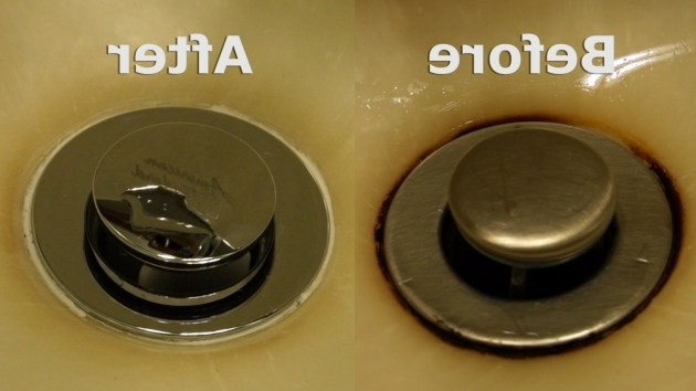 Image of How To Remove Rust From Bathtub Removing A Rust Stain From A Sink Youtube