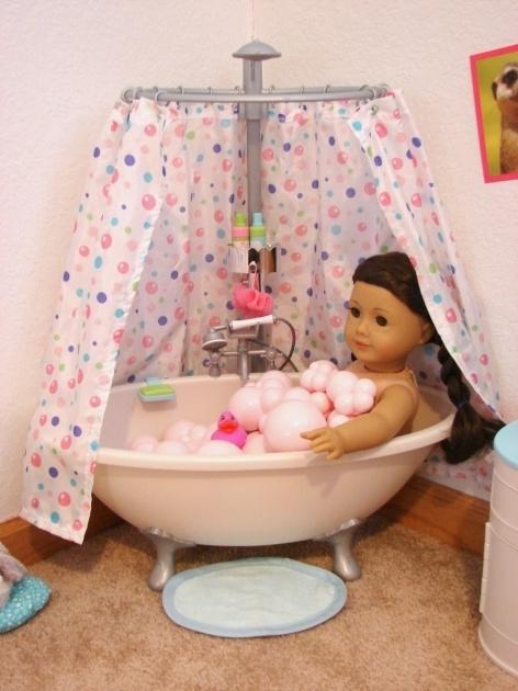 Incredible 18 Inch Doll Bathtub American Girl Doll Play Our Doll Play Area The Bathroom