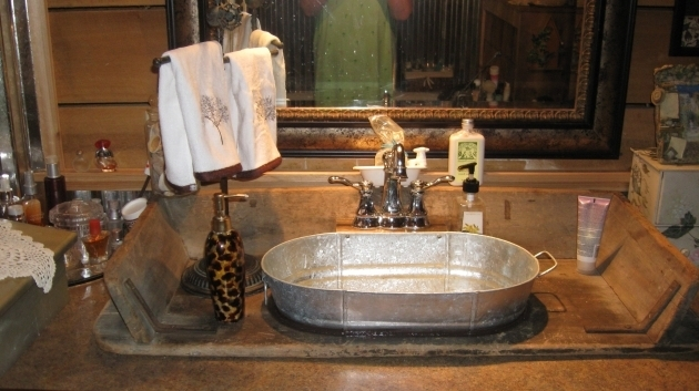 Incredible Galvanized Soaking Tub Galvanized Bucket Sink Images Home Furniture Ideas