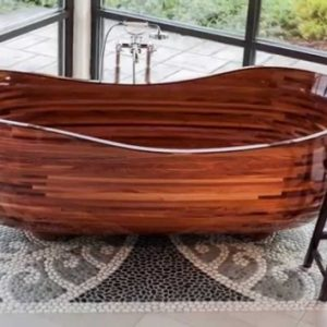 How To Make A Wooden Bathtub