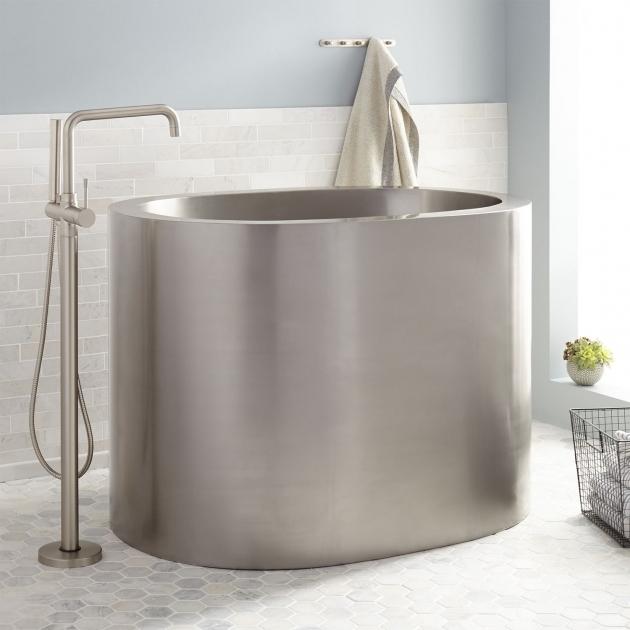 Inspiring 48 Soaking Tub 48 Raksha Stainless Steel Japanese Soaking Tub Bathroom