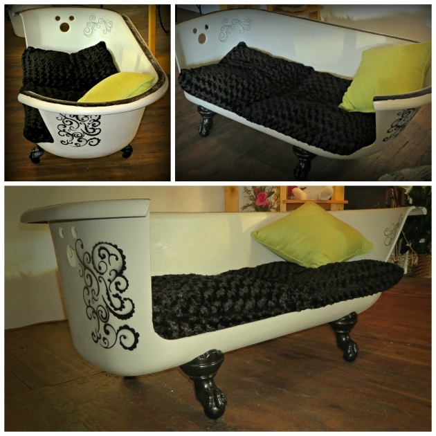 Inspiring Clawfoot Tub Couch Claw Foot Tub Made Into A Couch Wwwpetalsofwytheville In