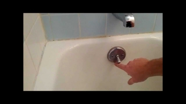Inspiring How To Fix Bathtub Drain Bath Tub Trip Lever Bath Tub Stopper Replacement Or Adjustnment