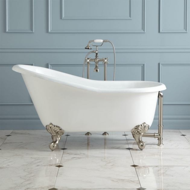 Marvelous Clawfoot Tub For Sale 57 Erica Cast Iron Slipper Clawfoot Tub Imperial Feet Bathroom
