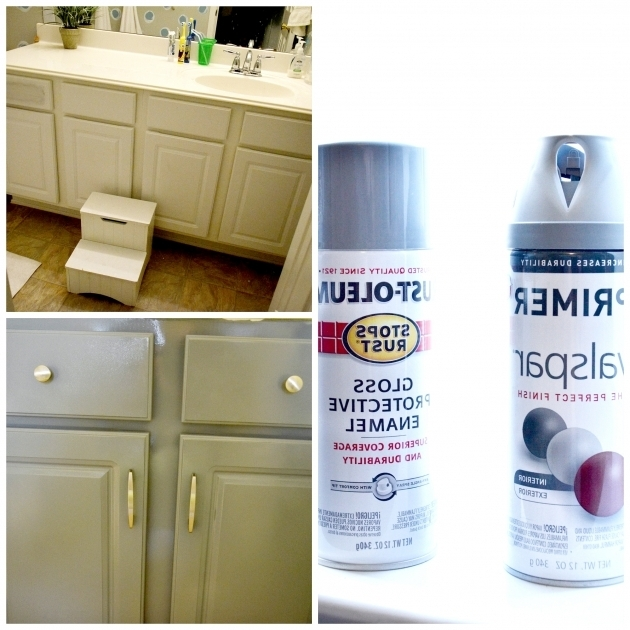 Outstanding Bathtub Spray Paint How To Spray Paint Cabinetsbathroom Makeover