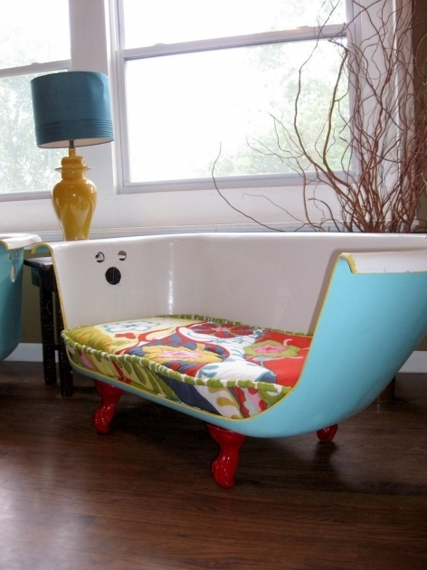 Outstanding Clawfoot Tub Couch Bath Tub Couch Furniture Remakes Pinterest Bath Tubs Tubs