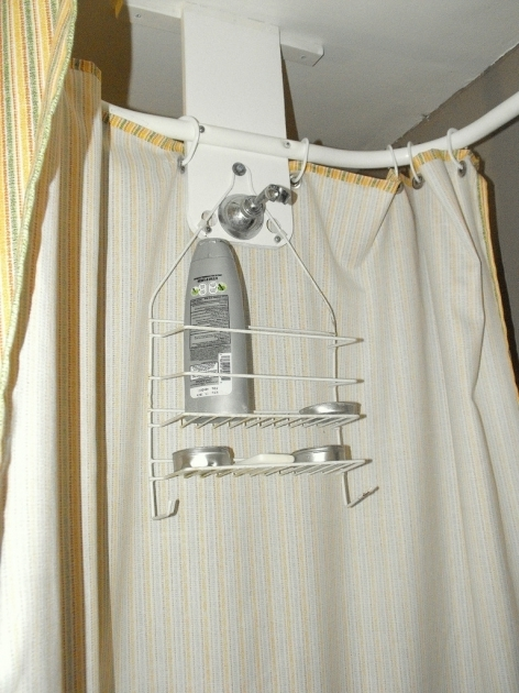 Outstanding Clawfoot Tub Shower Caddy Apartment Update Custom Shower Curtain Craftzilla Conquers The