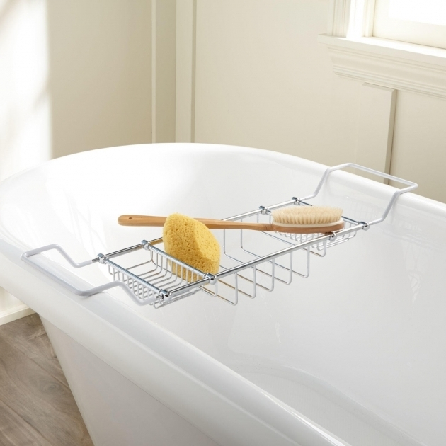 Outstanding Clawfoot Tub Shower Caddy Clawfoot Tub Accessories Signature Hardware