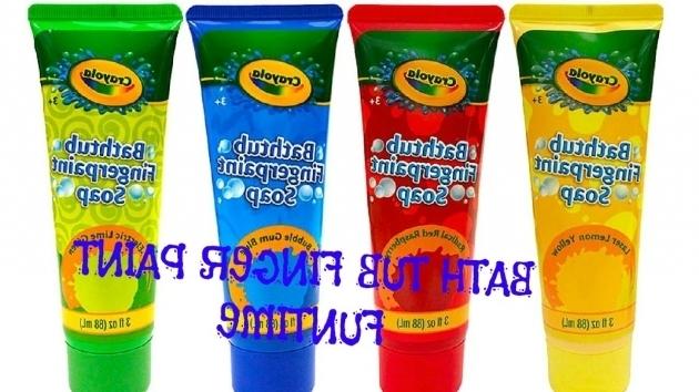 Outstanding Crayola Bathtub Fingerpaint Soap Bathtub Finger Paint Soap Funtime Youtube