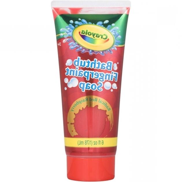 Picture of Crayola Bathtub Fingerpaint Soap Crayola Bathtub Fingerpaint Soap 6 Fl Oz Colors May Vary