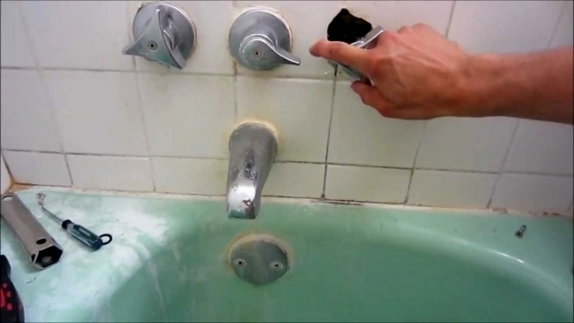 Picture of How To Fix A Leaky Bathtub Faucet Faucets How To Repair A Leaky Tub Faucet Todays Homeowner