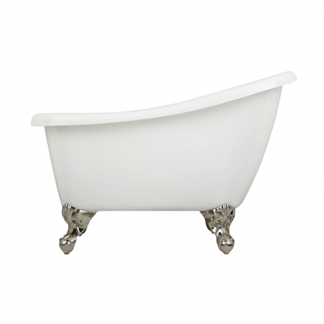 Remarkable Clawfoot Tub Dimensions 43 Carter Mini Acrylic Clawfoot Tub Bathtubs Bathroom