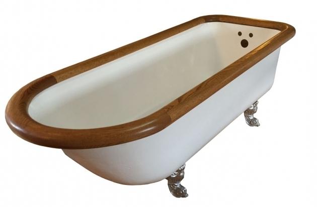 how to clean clawfoot tub feet