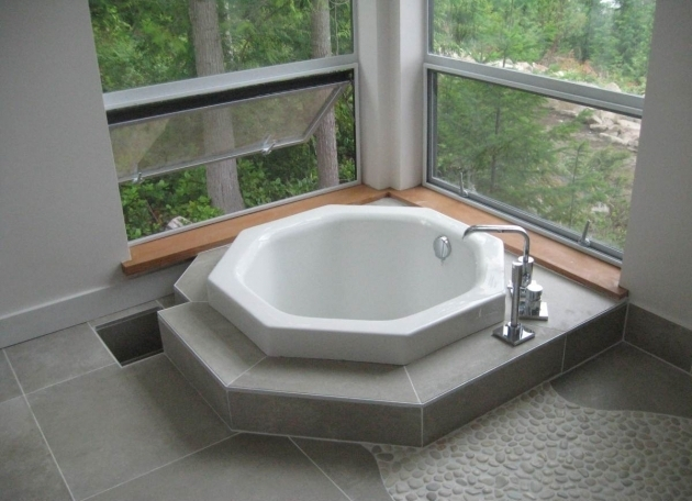 Stunning Japanese Style Soaking Tub Japanese Style Soaking Tub Give Asian Accent To Your Bathroom