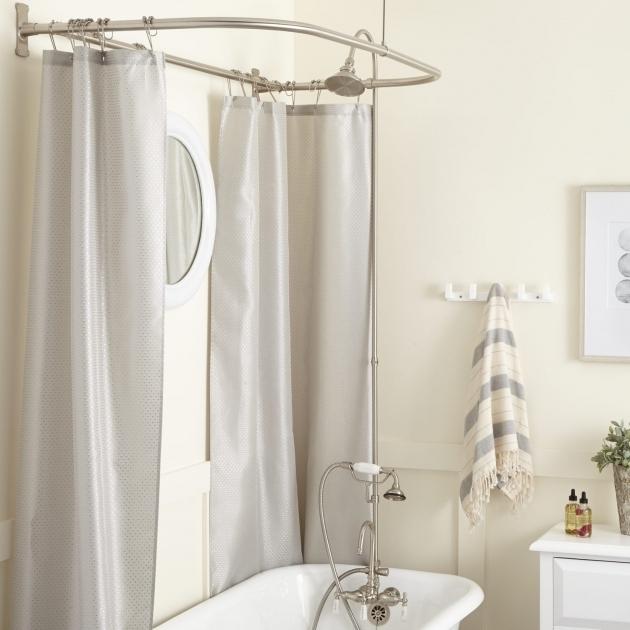 Wonderful Clawfoot Tub Shower Ring Gooseneck Clawfoot Tub Shower Conversion Kit D Style Shower Ring